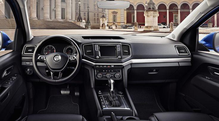 Por fin podemos ver el interior del nuevo Volkswagen Amarok 2016 - http://www.actualidadmotor.com/volkswagen-amarok-2016-interior/