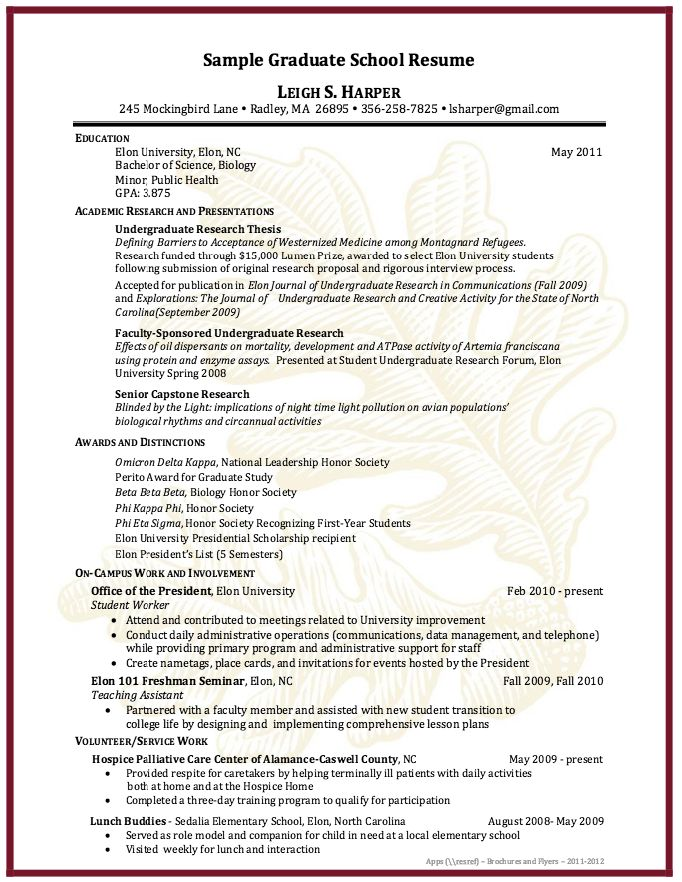 resume samples for graduate school admission sample application psychology examples of resumes and free academic cv template