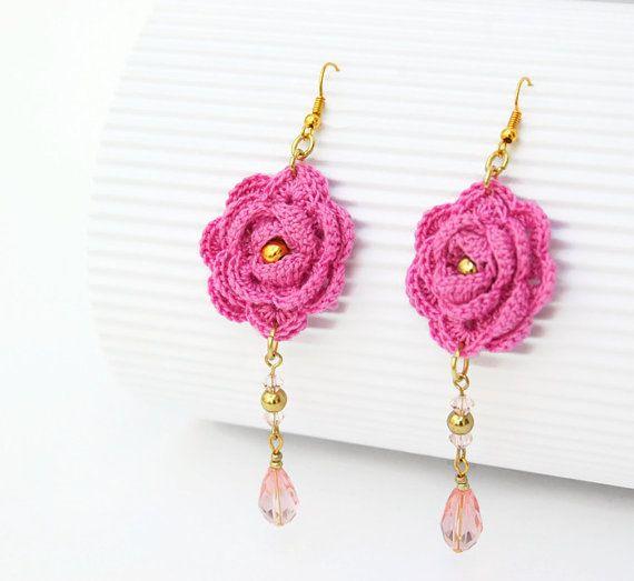 Crochet Hook Earrings: Best 25+ Crochet Earrings Ideas On Pinterest