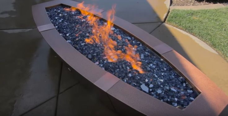 Elegant fire pits and tables for your garden - natural gas fire pits for outside
