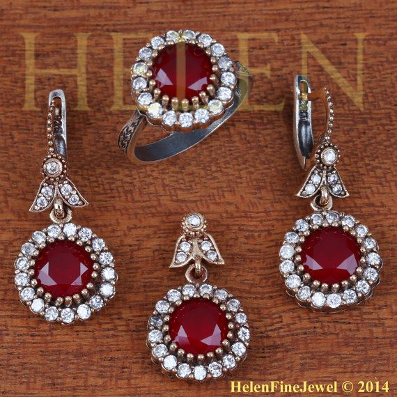 Ottoman Collection Hurrem Sultan Set Round by helenfinejewels