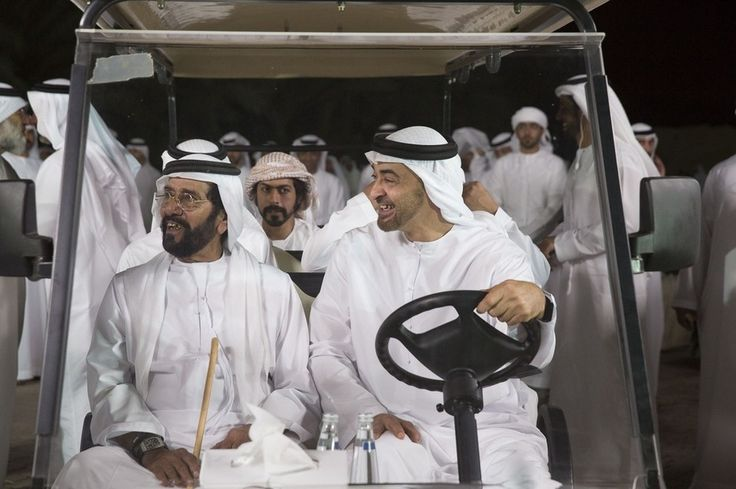 Sheikh Mohammed bin Zayed, UAE Rulers visit Al Ain's Hili Oasis - in pictures