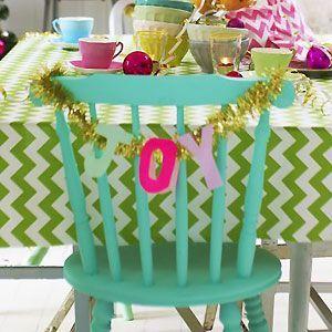 Good Ideas For You   Christmas Table Settings