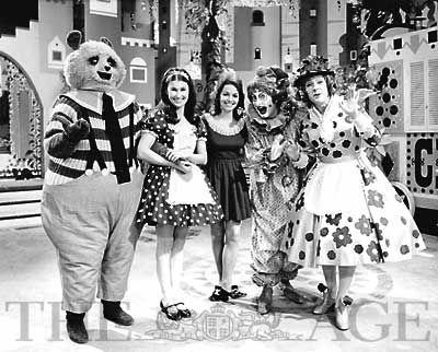Adventure Island: Lisa, Mrs Flowerpots, Percy Panda, Clown, Miser Meanie and Fester Fumble.