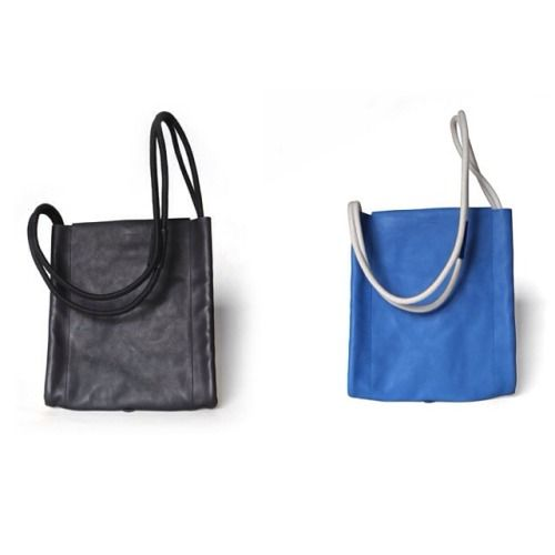 One-Two, One-Two.  #black #cobalt #backpack #bags #handmade #madeinitaly #leather