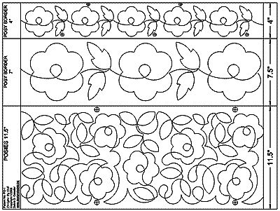 Long Arm Quilting Pattern Boards : PATTERN BOARDS FOR LONGARM QUILTING My Quilt Pattern
