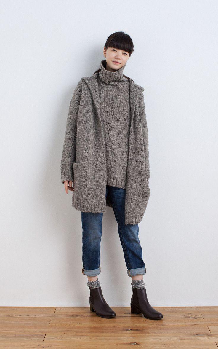 2016 秋冬 コーディネートカタログ   婦人   無印良品