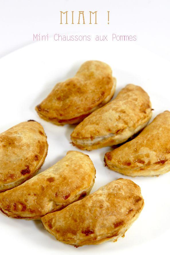 recette mini chausson aux pommes canelle 2