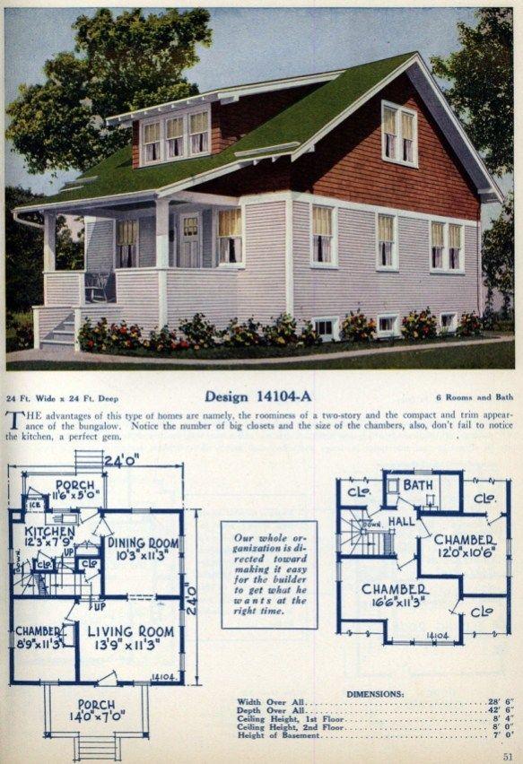 American home designs – Vintage house plans