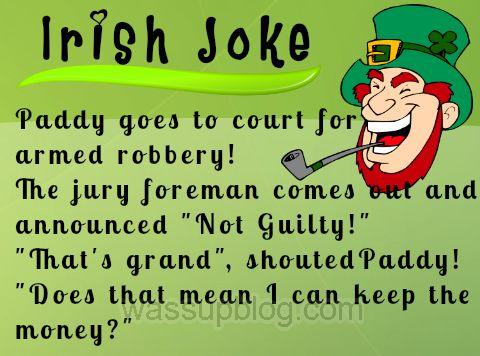 Friday Funnies Irish Jokes