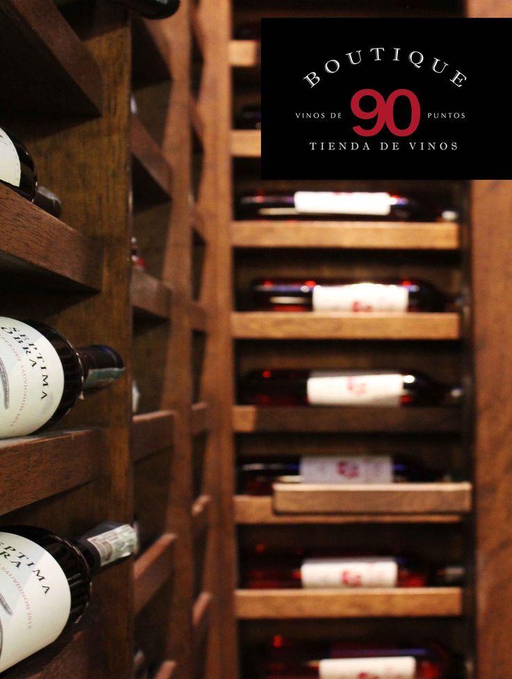 Espacios perfectos para hablar y disfrutar el vino... Boutique 90 Tienda de Vinos www.daniel.com.co/Boutique90