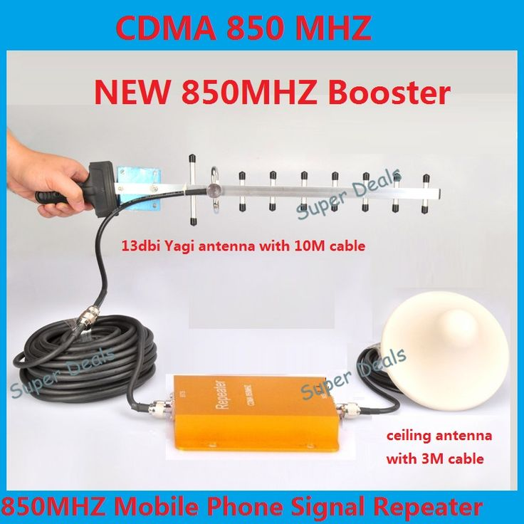 Hot Sell 3G 850MHz GSM CDMA Mobile Phone Cell Phone signal Amplifier Booster Repeater gain 60dbi 500 square meters with antenna