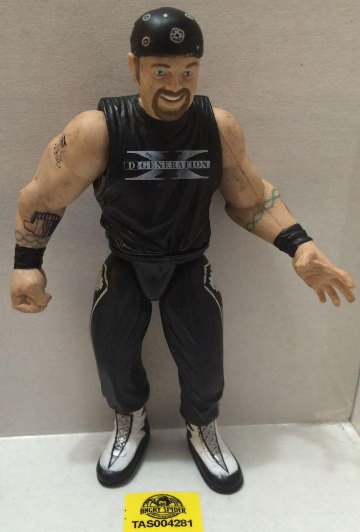 (TAS004281) - WWE WWF WCW Wrestling Action Figure LJN JAKKS - Road Dogg - DX