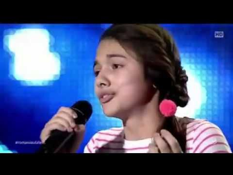 Romanii au Talent 2016 - Laura Bretan - o voce incredibila - YouTube