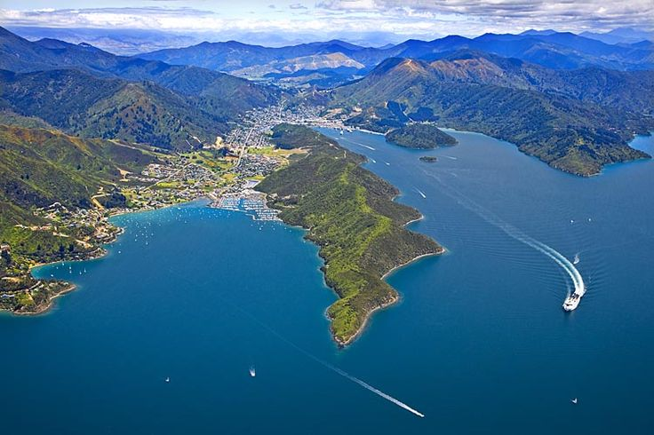 Picton, &, Waikawa,  see more at New Zealand Journeys app for iPad www.gopix.co.nz