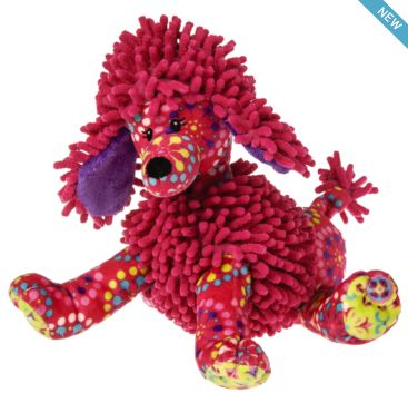 Pizzazz Raspberry Poodle from Mary Meyer  Available now at Bobangles.  #MaryMeyer #plush #toy #kids #cute #Australia #poodle #dog #puppy