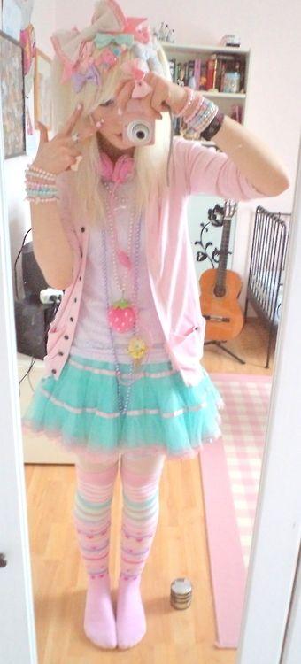 Super cute Kawai outfit