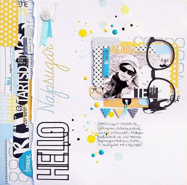 Jot Magazine Issue 18 - újra megjelent egy oldalam! Layout + Video