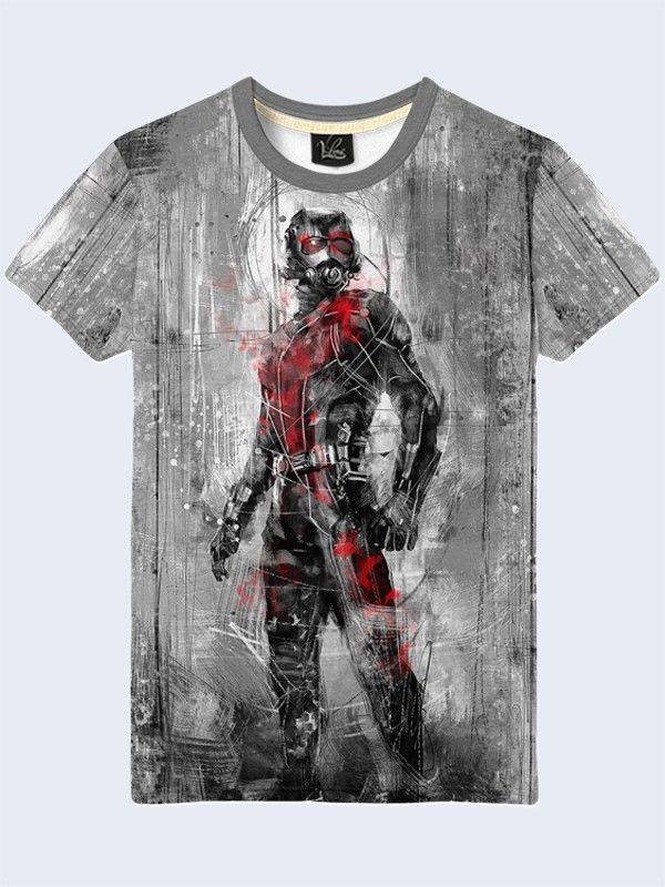 26a170e1b New Fashion Ant-Man Marvel Men Tee T-Shirt Short Sleeve New Size S-2XL  #design #marvel