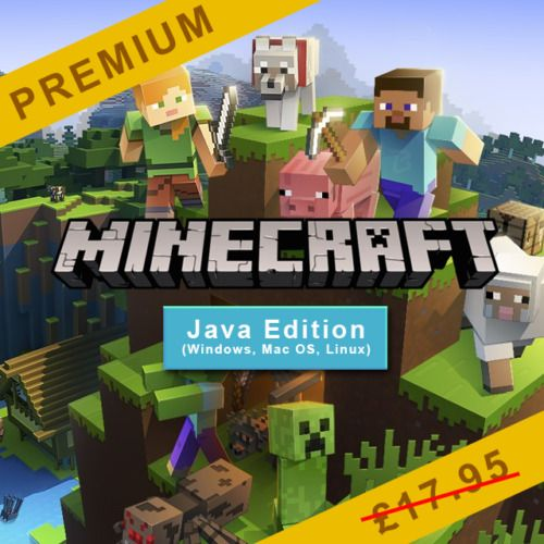 Minecraft Java Edition   🔥INSTANT DELIVERY🔥   SEMI-FULL ...