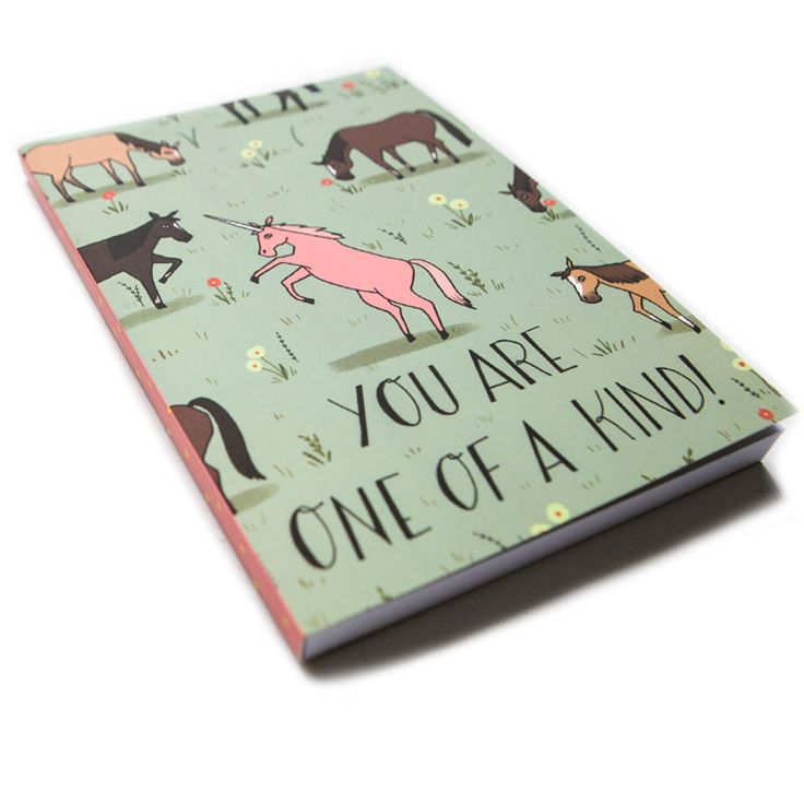 You Are One Of A Kind A5 Notebook
