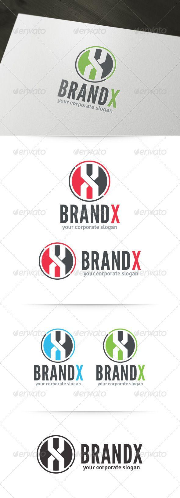 Brand X Letter Logo 43 best