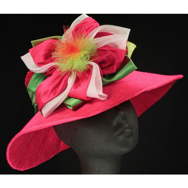 Kentucky Derby Hats - The Kentucky Derby Hat Collection at Maggie Mae... ❤ liked on Polyvore