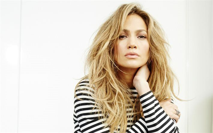 Scarica sfondi Jennifer Lopez, 4k, portrait, trucco, cantante, bella donna