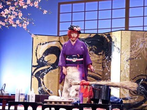 Традиционное создание японской картины