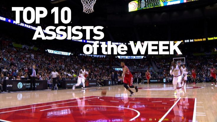Top 10 NBA State Farm Assists of the Week: 10.29.16 – 11.06.16