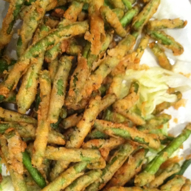 fried green beansFood Appetizers