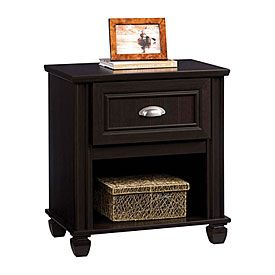 ANTHONY'S ROOM:  Ameriwood™ Dark Russet Cherry Finish Nightstand | Big Lots