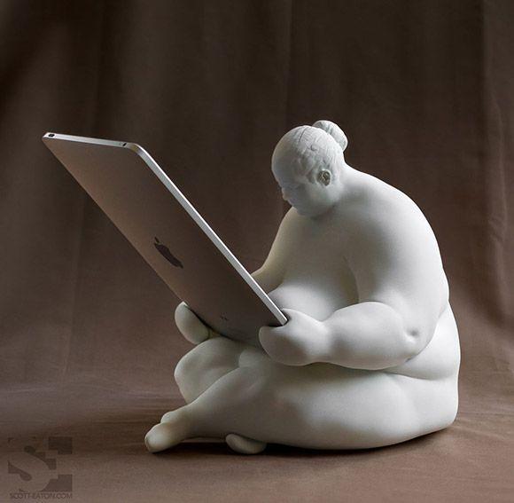 ha ha ha, this iPad station is great! .......... #ipad #ipad_station