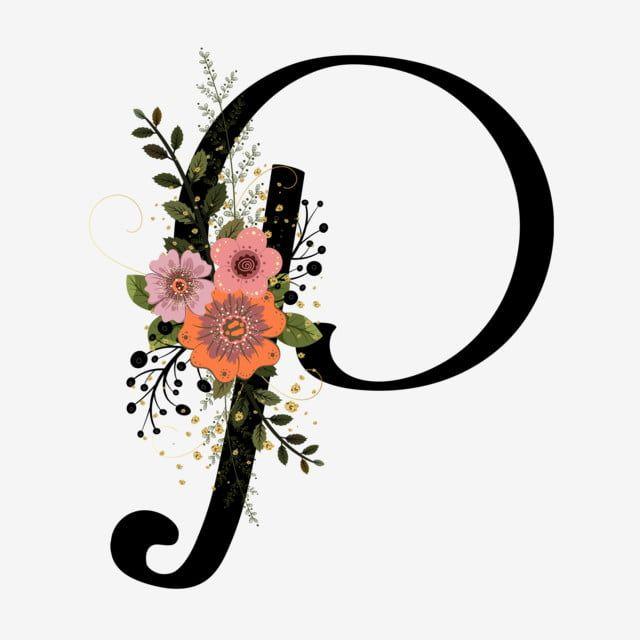 Alphabet Letter P Clipart Flowers Alphabet Letters Flowers Vintage Flowers Invitations Flowers Decoration Invita In 2020 Floral Letters Flower Letters Paper Flower Art
