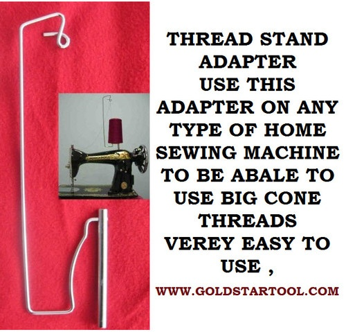 how to use cone thread on sewing machine