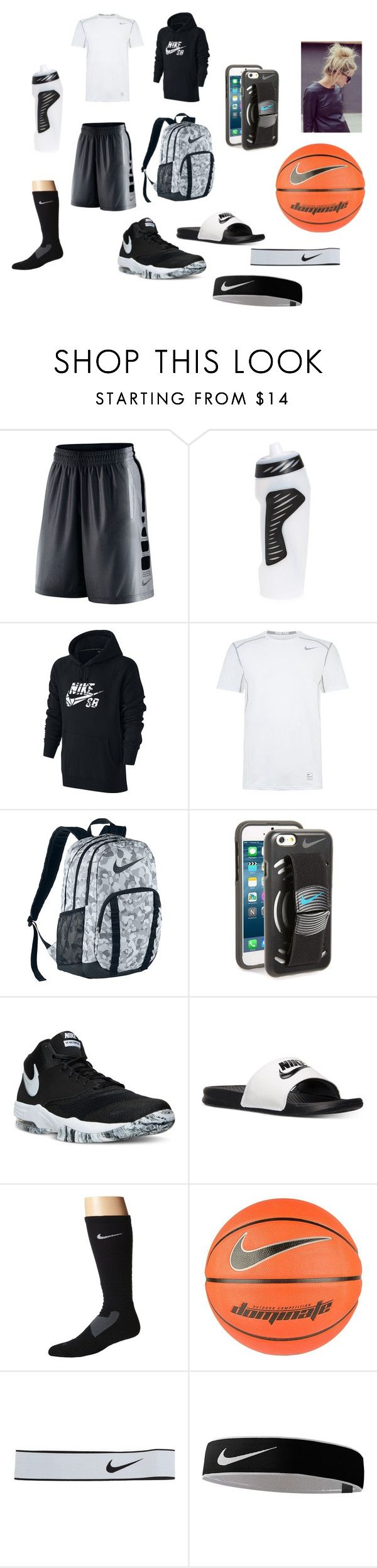 Basketball by zoeboe-894 on Polyvore featuring NIKE