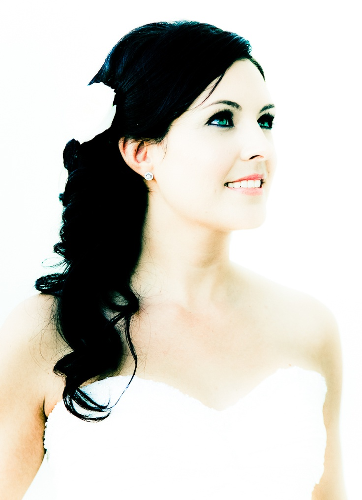 Nichola & Brad stunning bridal make up makes for gorgeous images » Blush Wedding Photography .co.nz