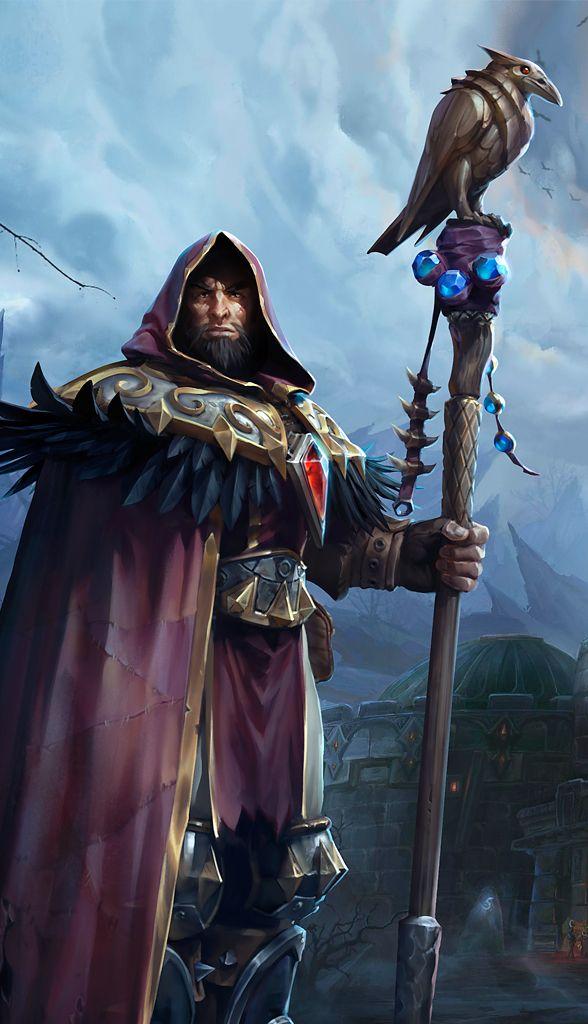 Jeu vidéo : Heros of the Storm / perso : MEDIVH , Le dernier Gardien / http://www.millenium.org/heroes-of-the-storm/medivh/actualites/medivh-hots-stats-talents-specialiste-warcraft-mage-prophete-143812