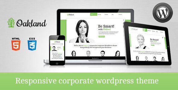 Oakland - Premium Responsive WordPress Theme