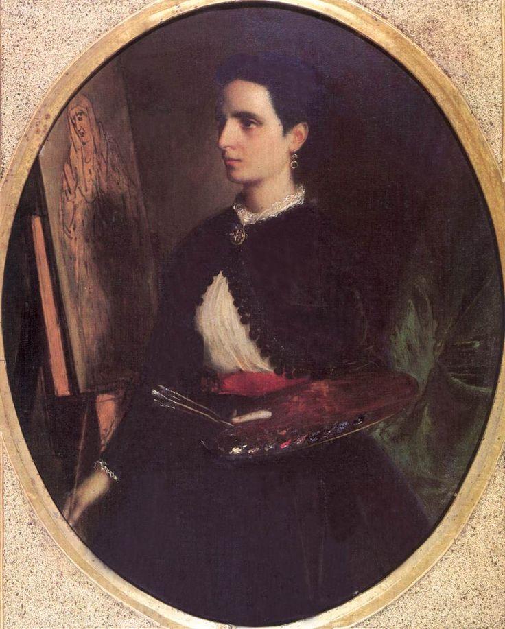Petra de Castro y Blanco, a művész felesége 1869.jpg (985×1228)