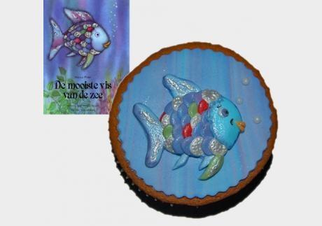 'De mooiste vis van de zee' cupcakes, at Taart Nouveau