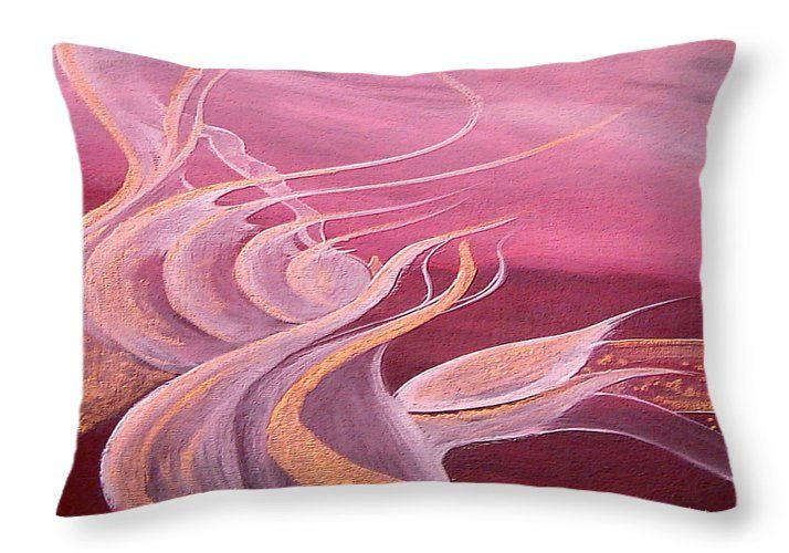 Ruby Expression Throw Pillow For Sale By Faye