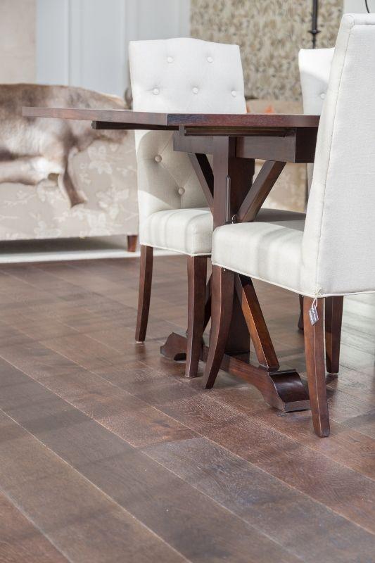 Smartfloor - Lignite Oak, Matamata job