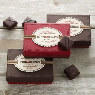 ribbon woven tags: Kira Chocolates, Gems, Chocolates Truffles Packaging, Gifts Tags, Chocolates Packaging, Gifts Boxes, 6Pc, Ribbons Woven, Flavored Boxes