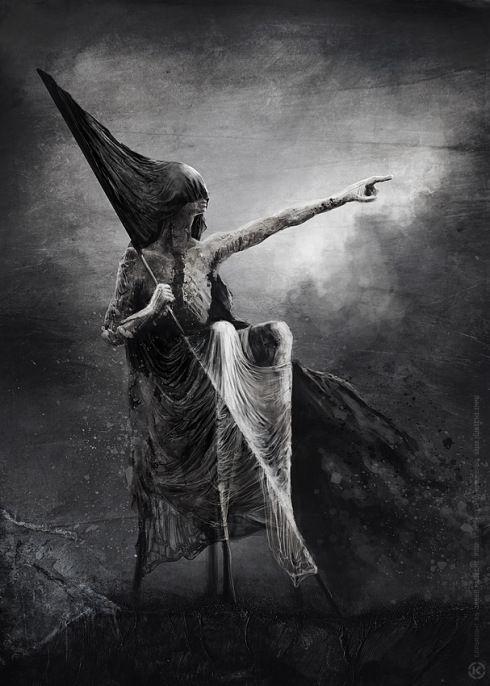 jarek kubicki, art, macabre surrealism,