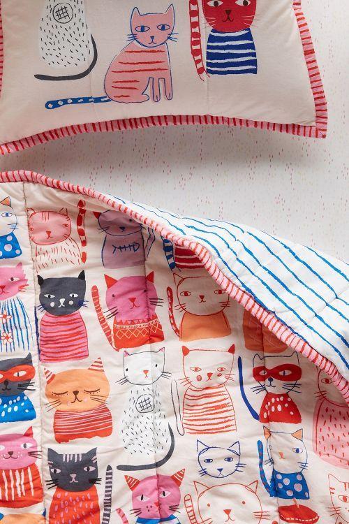 Cat Collective Toddler Quilt & Playmat