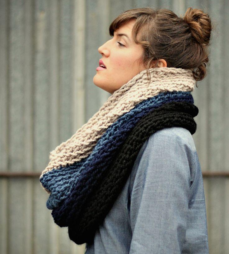 Oversized Merino Wool Scarf - Chained Colors by VIDA VIDA Tq9LV