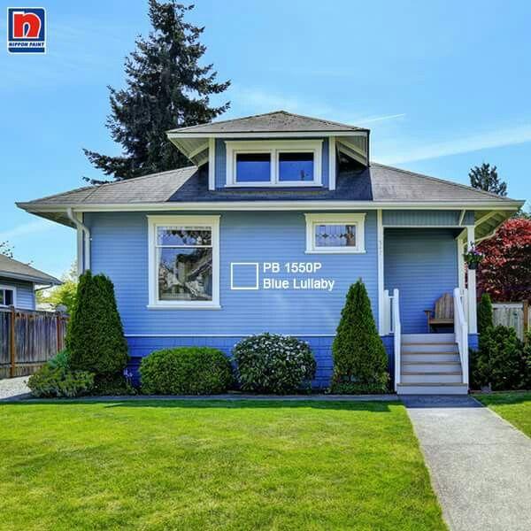 Hadirkan suasana yang teduh dengan memberi sentuhan warna pastel pada eksterior. Tertarik mengaplikasikannya di rumah, Sahabat Nippon Paint?  Dapatkan warnanya dihttp://bit.ly/blue_lullaby  #ImajinasiTanpaKompromi