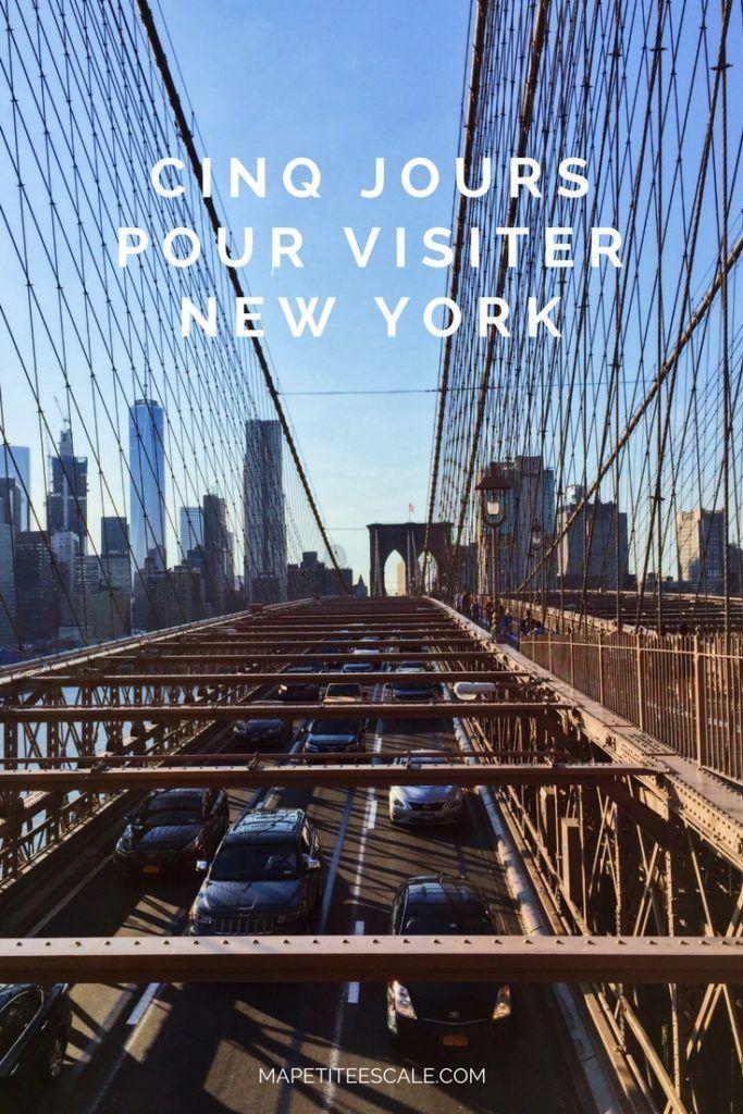Itinerary: 5 days to visit New York