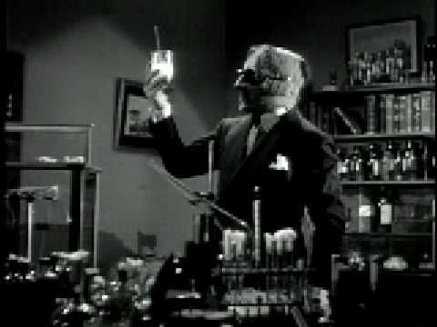 The Invisible Man Trailer: one of the first, and to this day, greatest, insane, laughing psychopath villains in film history